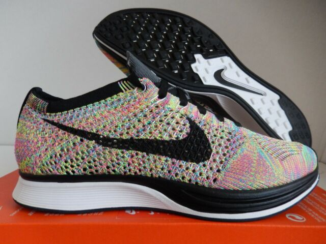 best website 7f2e3 83671 NIKE FLYKNIT RACER MULTI COLOR SZ 8 MENS-WOMENS SZ 9.5 2016 EDITION  526628