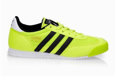 ADIDAS Dragon Kinder Schuhe Sneaker Freizeit Turnschuhe gelbschwarz Gr.37 od.38 | eBay