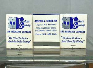 Three VTG Investors Security Life Insurance Co Columbus OH ...