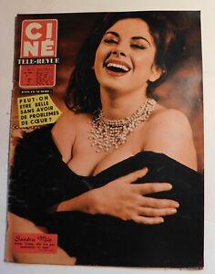 Ciné Télé-Revue n° 11 - 1960 -  SANDRA MILO - TONY CURTIS