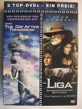 THE DAY AFTER TOMORROW & DIE LIGA DER AUSSERGEWÖHNLICHEN GENTLEMEN - 2 DVD BOX