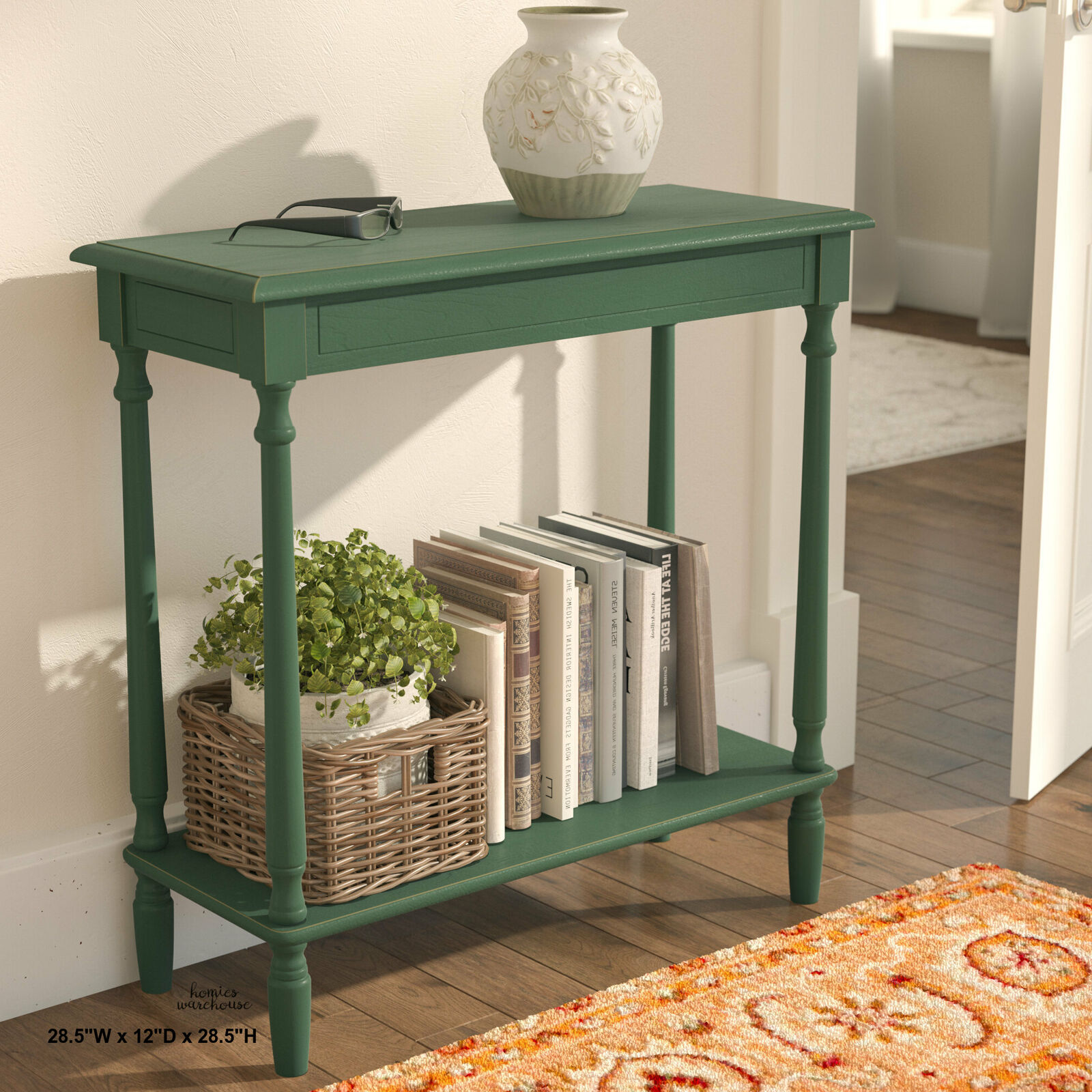 Picture of: Narrow Console Table Rustic Small Entry Way Hallway Table Rustic Black Stain For Sale Online Ebay