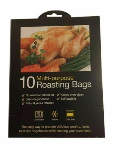 Pack of 10 Multi-Purpose Roasting Bags Free Post /& Pack First Class Post Sameday