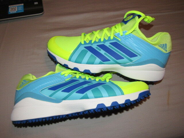 NWOB Adidas Performance Men's Lux Field Hockey shoes Size 12 AQ6510 BRAND NEW