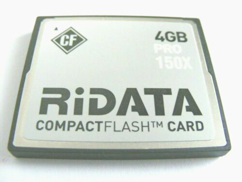 Ridata usado 4 gb CF mapa 4gb Compact Flash Card