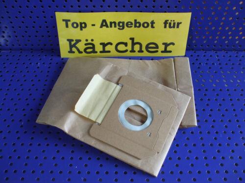 10 Staubsaugerbeutel aus Papier geeignet für Kärcher 2701 2801