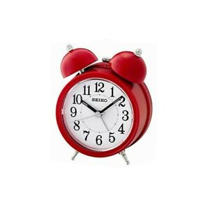 Seiko-QHK035R-Bell-Alarm-Clock-with-Light-and-Snooze-Red