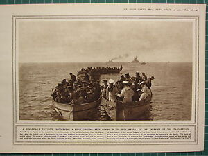 1915 Première Guerre Mondiale G.Mondiale 1 Imprimé ~ Naval Landing-Party Kum r7hd2Ql8-08042623-993871500