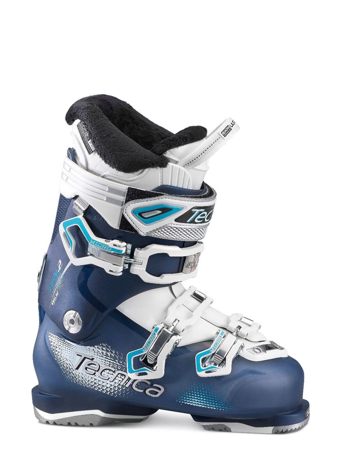 Tecnica 2015-16 Ten.2 95 C.A. Blau/Blau 25.5 Damenschuhe Ski Stiefel