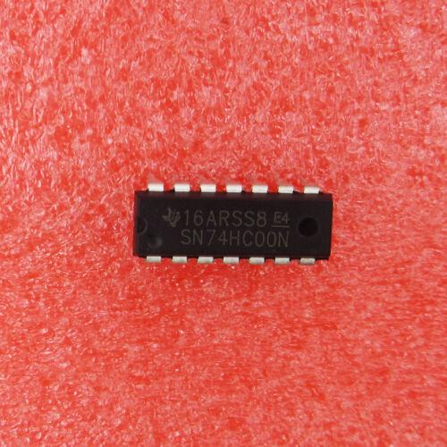 3PCS SN74HC00N 74HC00N IC QUAD 2-INPUT NAND GATE 14-DIP NEW