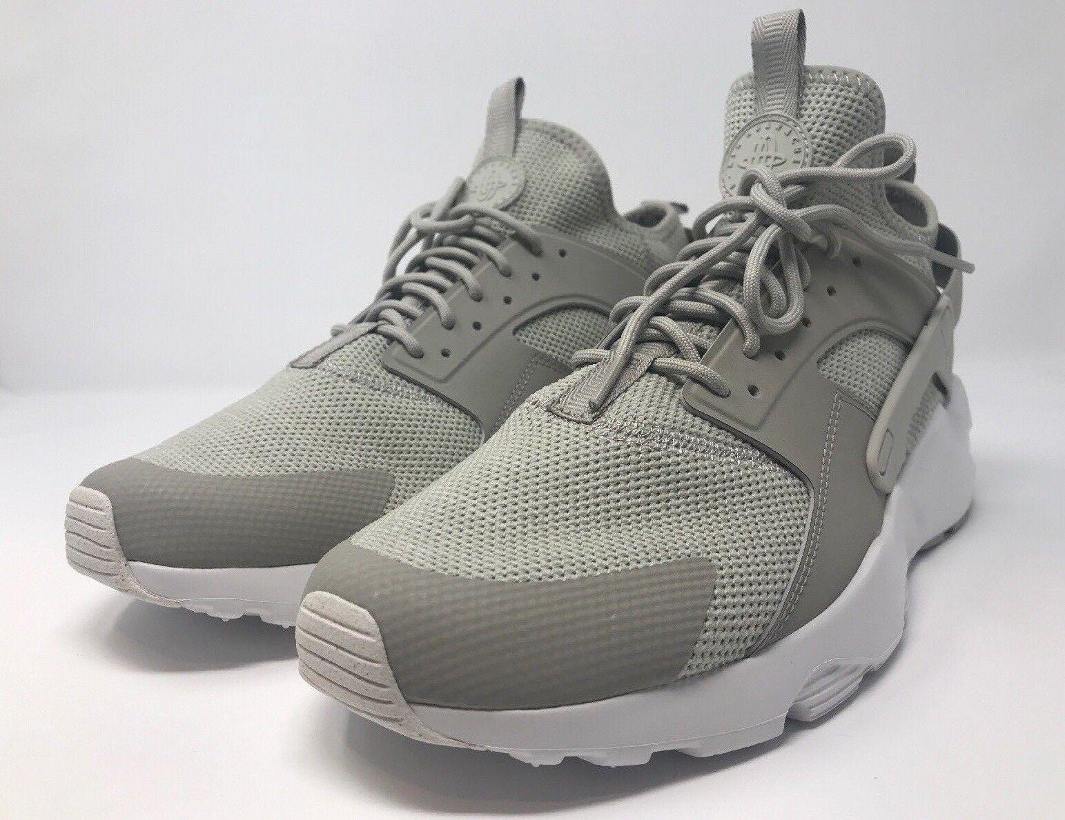 130 Nike Air Huarache Run Ultra BR Men's Size 11 Pale Grey 833147 002