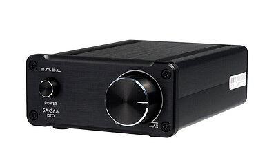 SMSL SA-36A Pro 20W*2 TDA7492PE Digital HIFI Power Amplifier black color