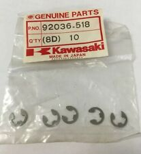 NOS KAWASAKI 92036-518 CABLE HULL FITTING SNAP RING JS440JS550 JT1500 JL650