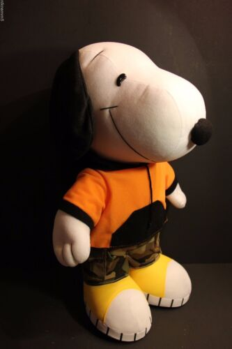 """1 Pc of High Quality 20/"""" Snoopy Soft Doll Stuff Animal Plush from Peanuts Gang"""