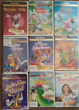 LOT OF 9 WALT DISNEY GOLD COLLECTION DVD MOVIES INCLUDING THE THREE CABALLEROS