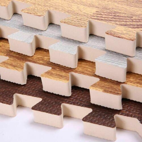 96sq//48sq Puzzle Exercise Mat Interlocking Foam Floor Mats w// Border Floor Tiles