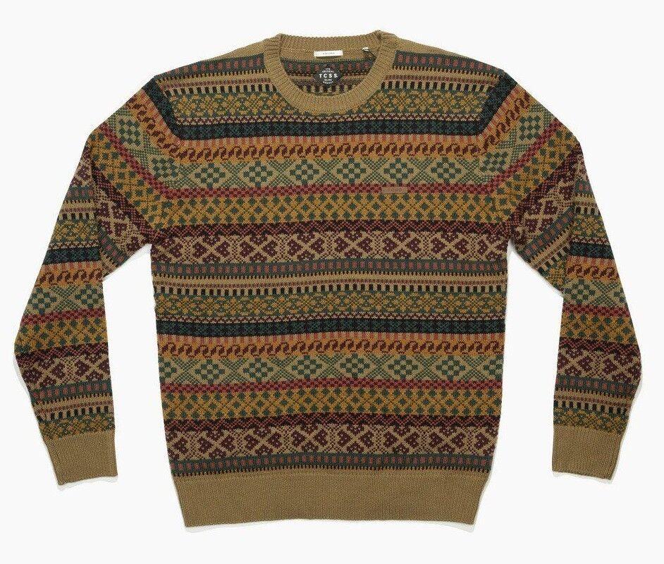 BNWT The Critical Slide Society Gerroa Crew Knit Sweater XL Jumper TCSS