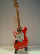 Miniature Guitar (24cm Tall) : NIRVANA-KURT COBAIN FENDER JAG STANG