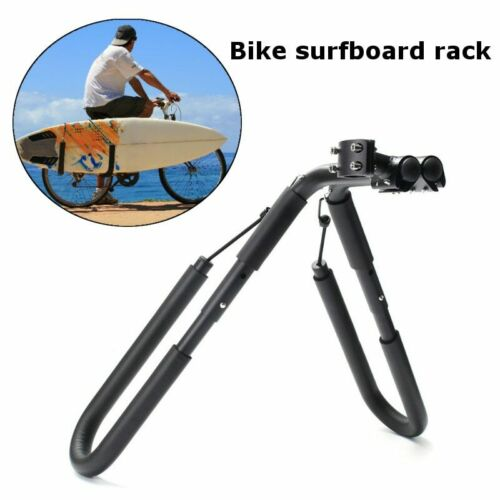 Carver Surfboard Bike Rack Bicycle Shortboard Side Rack Seat Mount Fit Most Bike