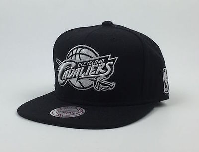 Cleveland Cavaliers Nba Mitchell&ness Snapback Black Schnelle Farbe Sport