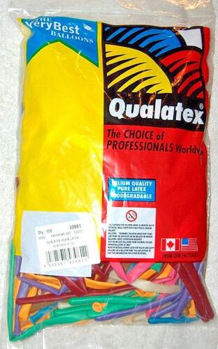 Qualatex Q2600 Modellier Sortiment Entertainer Luftballons Beutel 100 Stück