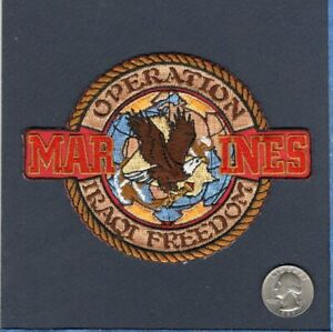 Details about USMC OIF Operation Iraqi Freedom Marine Corps Veteran  Squadron Company Patch