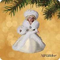 2002 Hallmark Madame Alexander 7 Ornament Winter Wonderland