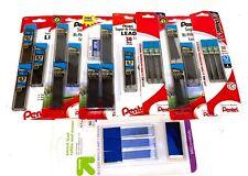 Huge Lot Pentel 7mm Hb Super Hi Polymer Lead Refills 8 Packages Free Shipping