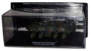 Blindati-De-Agostini-Spahpanzer-Luchs-1-72-Germany-Tank-Diecast