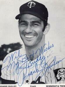 FRANK-QUILICI-MINNESOTA-TWINS-PERSONALIZED-SIGNED-3X4-PHOTO-W-COA