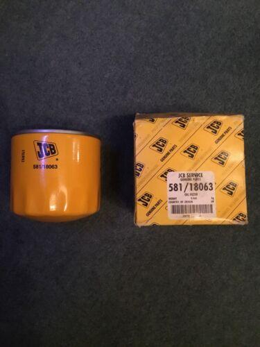 Part Number 581//18063 JCB Oil Filter