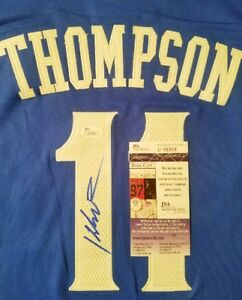 check out d14c4 77888 Details about Klay Thompson Signed (Warriors) Throwback Jersey Size XL in  person JSA CERTIFIED