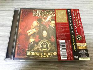 The-Black-Eyed-Peas-Monkey-Business-UICA-9007-JAPAN-CD-OBI