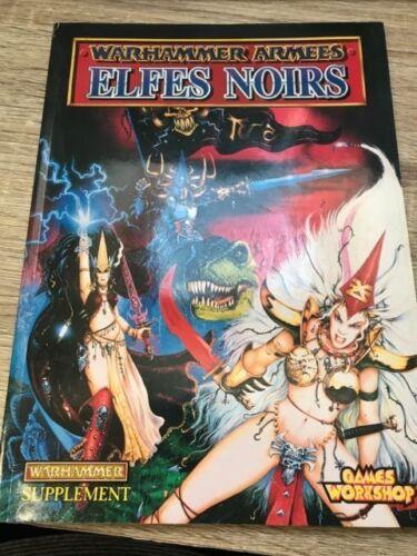 Warhammer-OOP-Warhammer Armées Elfes noirs version française