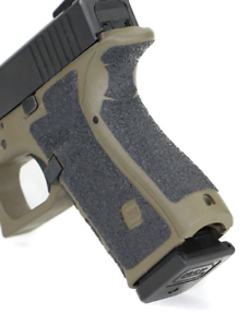 Pistol hogue grip Rubber Grip Fits Glocks glock 17 20 21 22 33 Black adhesive