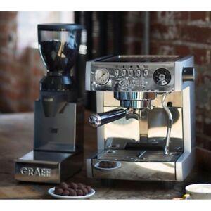 Graef Marchesa ES850 Espressomaschine Siebträgermaschine+CM 850 Kaffeemühle WOW