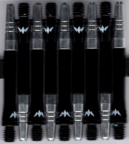 1 set of 3 InBetween Black ALIMIX Spinning Aluminum Dart Shafts