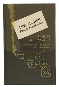 Ross-Macdonald-039-s-Lew-Archer-Private-Investigator-SIGNED-LIMITED-FIRST-EDITION