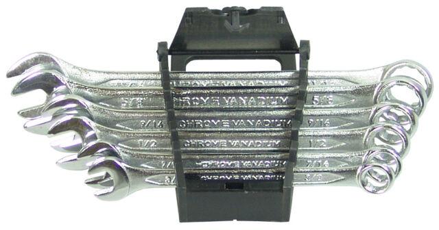 Maul-Ringschlüssel Satz 3/8-11/16 Zoll Werkzeug Set Ring-Maulschlüssel 6-tlg BGS