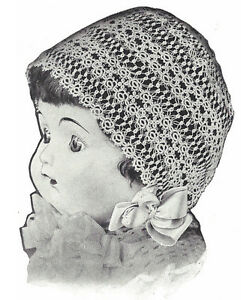 Vintage Tatting Crochet Pattern To Make Antique Baby