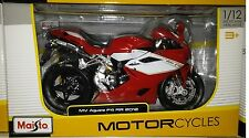 MV Agusta F4 RR 2012 Motorcycle Die-cast 1:12 Maisto 5 inch Red 11098