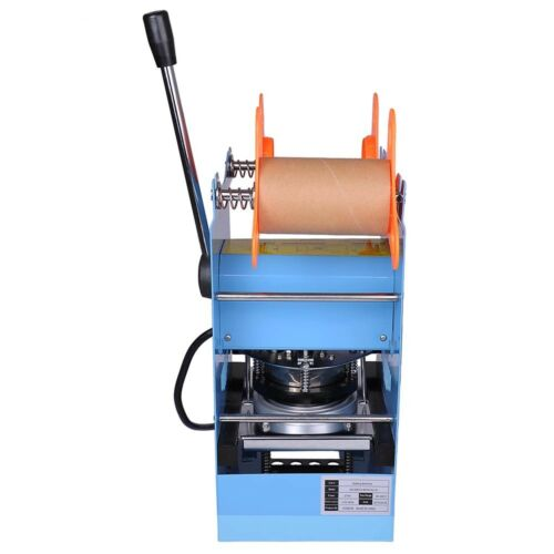 Commercial Manual Cup Sealing Machine Snack Bars Cafe Sealer 300-500 Cups//Hr