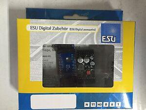 """+++ Esu 54399 Loksound L V4.0 """"désir Sound"""", écartement Des Rails 0"""