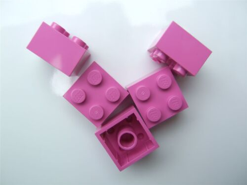 size 2x2 Parts /& Pieces 5 x Lego Bright purple Brick - 4517992
