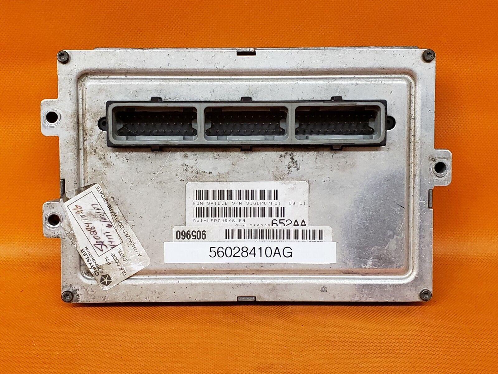 DODGE OEM ENGINE CONTROL MODULE UNIT PCM ECM ECU P04727160CHRYSLER