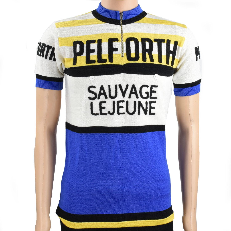 Pelforth-Sauvage-Lejeune merino wool jersey - VV Classics