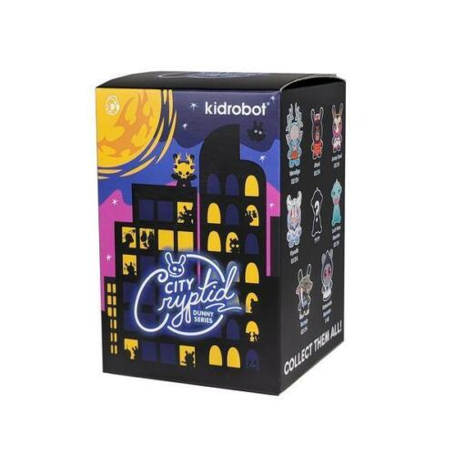 ONE BLIND BOX CITY CRYPTID DUNNY SERIES VINYL MINI FIGURE BY KIDROBOT