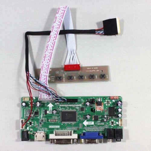 HDMI+DVI+VGA driver board KIT f LP156WH2-TL A1 B1 Q1 P1 N1 LP156WH4 LTN156AT02
