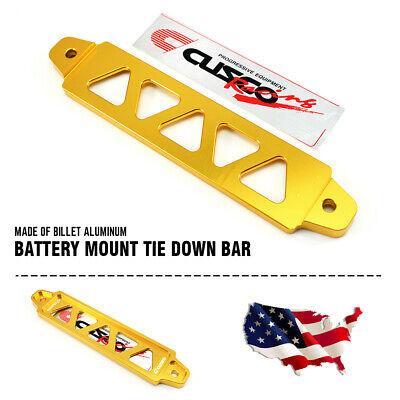 Universal 195mm Aluminum Car Battery Tie Down Holder Bracket Brace Bar Billet US