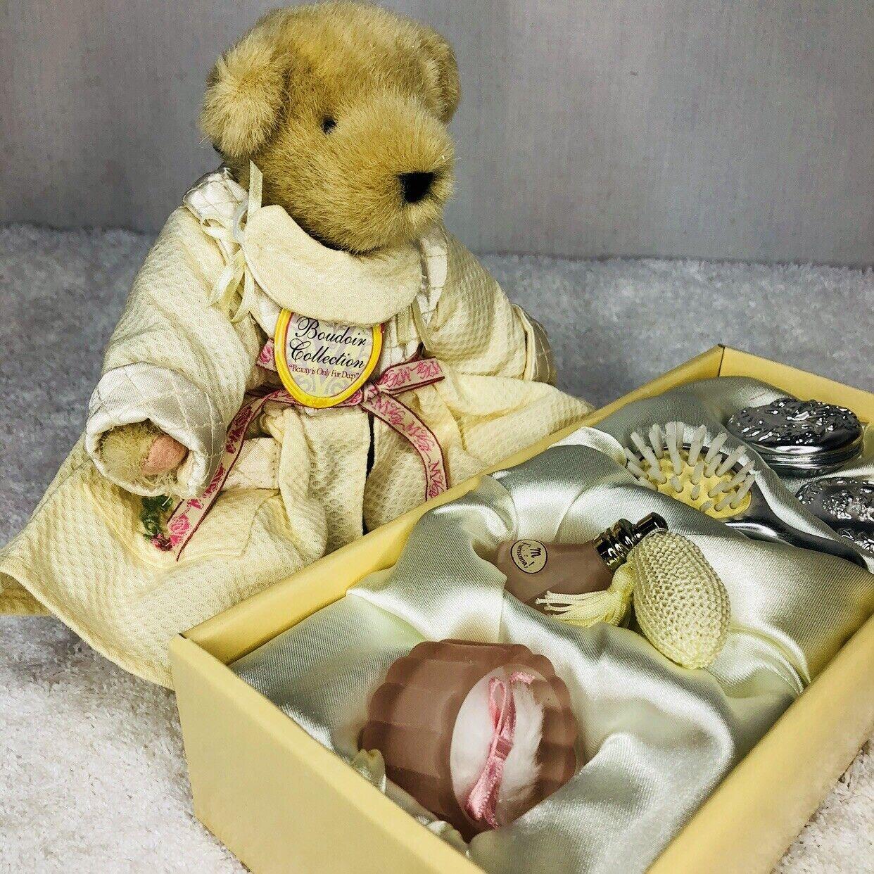 Vintage 1994 Muffy Vanderbear Collection Boudoir Vanity Accessories New in Box